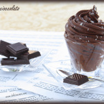 Mousse con note di cioccolato